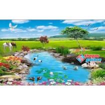 Gạch tranh 3D phong cảnh đẹp