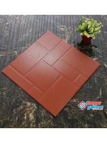 Gạch gốm đỏ 40x40 lát sân giá rẻ
