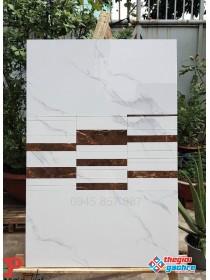Gạch ốp tường bóng kiếng 40x80 apodio cao cấp