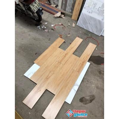 Gạch giả gỗ 15x80 lát nền giá rẻ