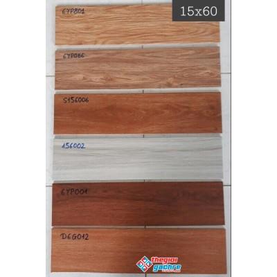 Gạch giả gỗ 15x60 hàng nhập khẩu giá rẻ tại kho