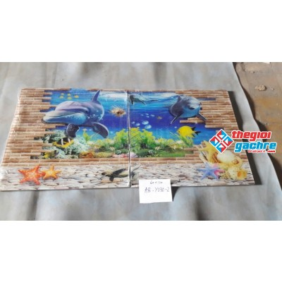gạch tranh trang trí 120x180 giá rẻ