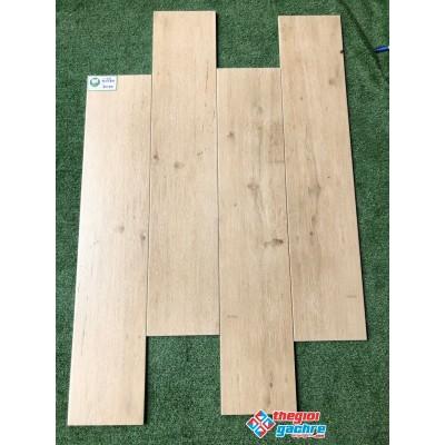 Gạch lát nền giả gỗ 20x100 tông sáng