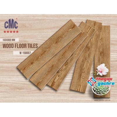 Gạch vân gỗ  lát nền 15x80 cmc