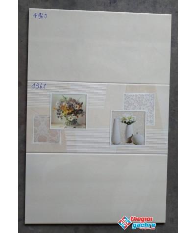 GẠCH ỐP TƯỜNG 40X80 CAO CẤP TASA 4960