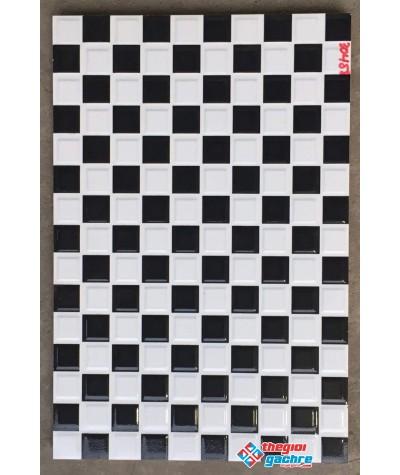 Gạch trang trí 30x45 đen trắng huyền bí