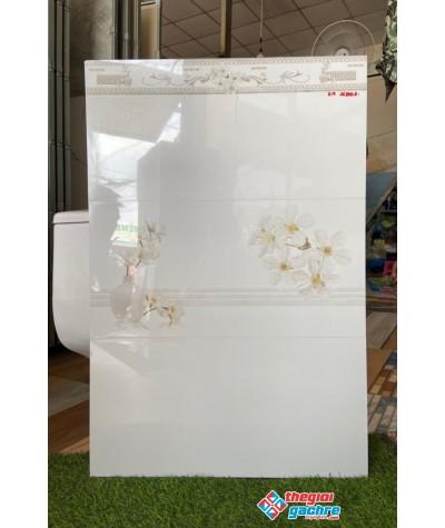 Gạch bóng kiếng trắng trơn 30x60 ốp tường