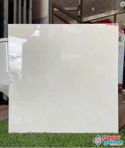 Gạch bóng kiếng vân vàng nhẹ 60x60 lát nền